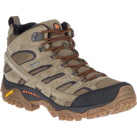 Merrell Moab 2 Leather Mid GTX Shoes Men olive